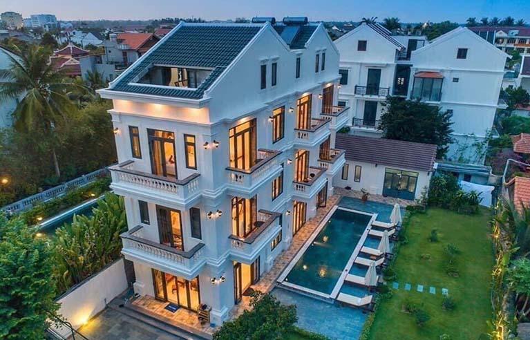 HAVL2 - Villa sân vườn Hội An 6 phòng ngủ