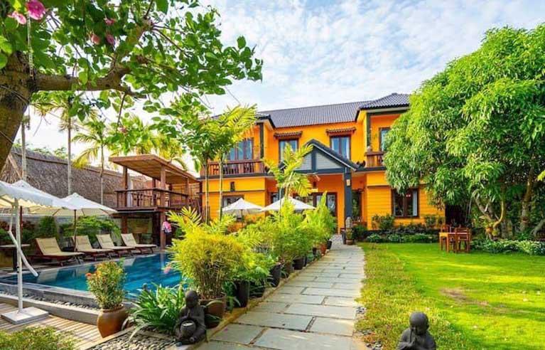 HAVL4 - Villa sân vườn Hội An 10 phòng ngủ