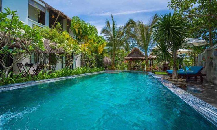 HAVL12 - Villa sân vườn biển An Bàng 4 phòng ngủ
