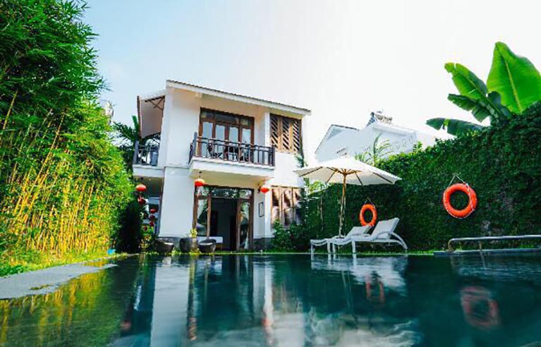 havl14 - Villa sân vườn Hội An 6 phòng ngủ
