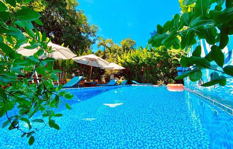 HAVL15 - Villa sân vườn biển An Bàng 8 phòng ngủ