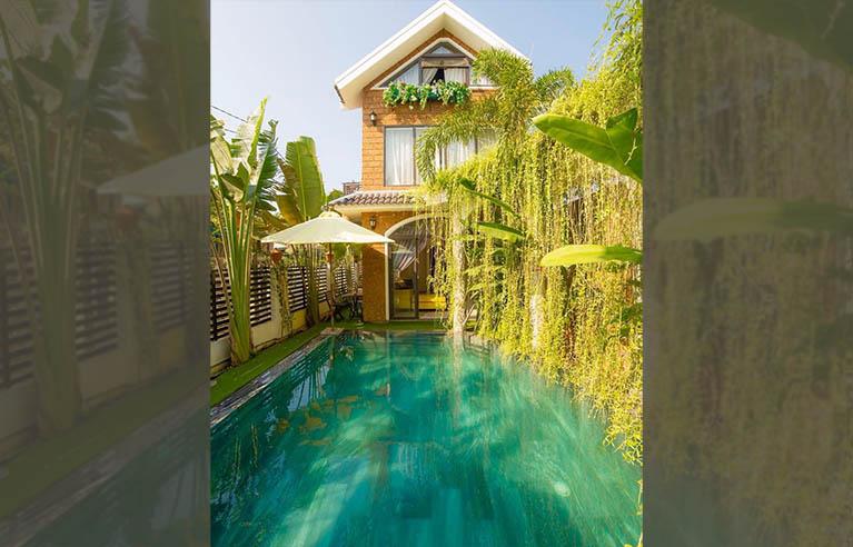 HAVL7 - Villa sân vườn Hội An 8 phòng ngủ