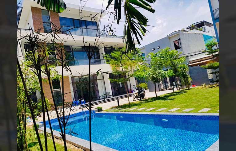 DNVL19 - Villa sân vườn Mỹ Khê 5 phòng ngủ