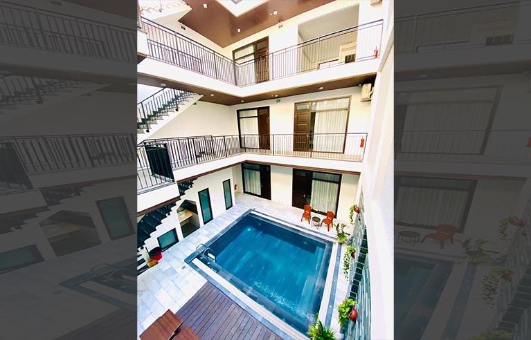 DNVL25 - Villa 9 phòng ngủ biển Mỹ Khê