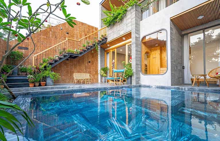 DNVL30 - Villa 5 phòng ngủ gần biển Phạm Văn Đồng