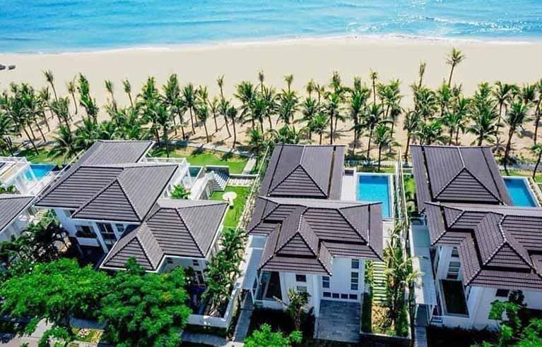 DNVL31 - Villa 2,3,4 phòng ngủ gần biển Mỹ Khê