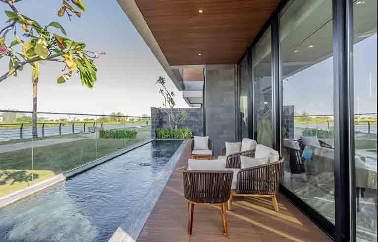DNVL33 - Villa 3 phòng ngủ gần núi Ngũ Hành Sơn
