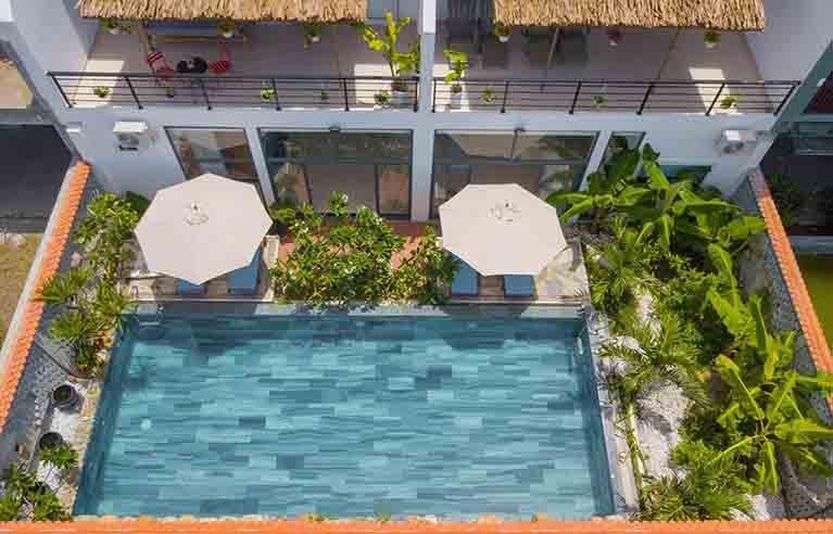 HAVL27 - Villa 13 phòng ngủ biển An Bàng