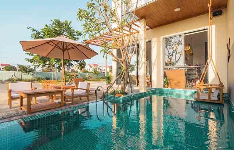 HAVL28 - Villa 6 phòng ngủ biển An Bàng