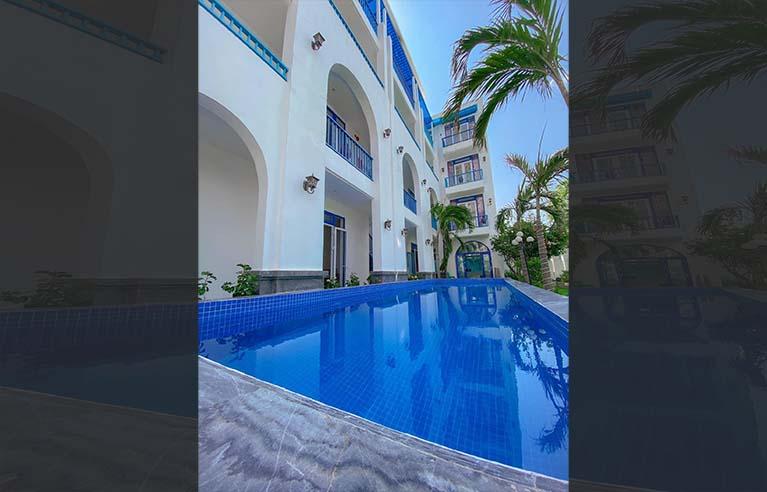 DNVL44 - Villa 12 phòng ngủ gần cầu Thuận Phước