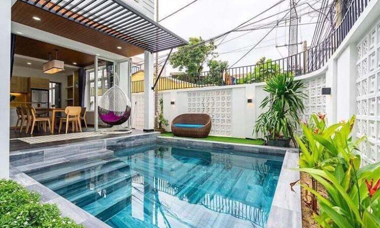 DNVL46 - Villa 4 phòng ngủ gần bãi tắm T20