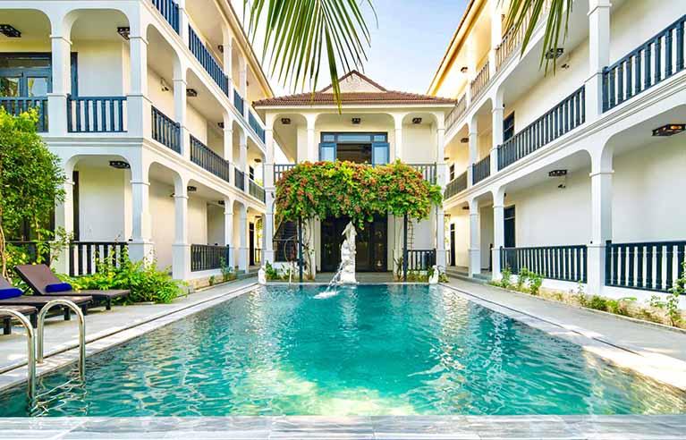 HAVL37 - Villa 12 phòng ngủ gần làng rau Trà Quế