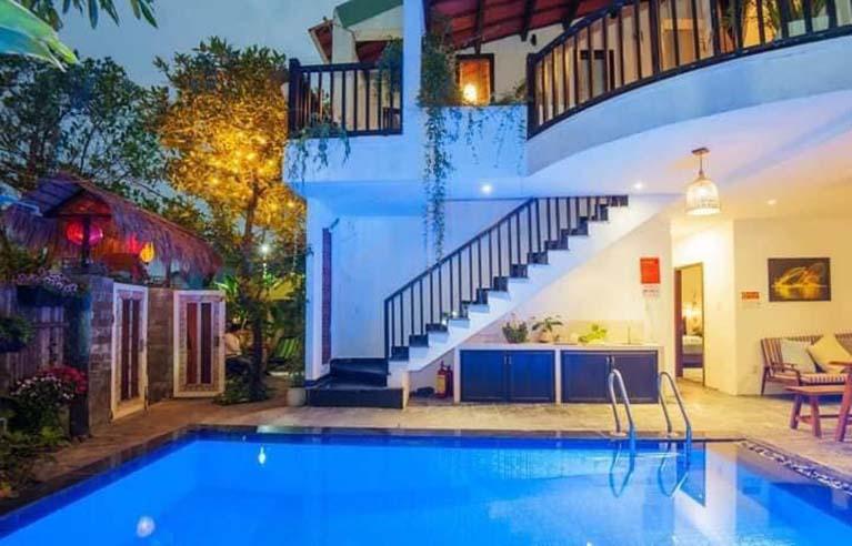 HAVL45 - Villa 5 phòng ngủ gần biển An Bàng