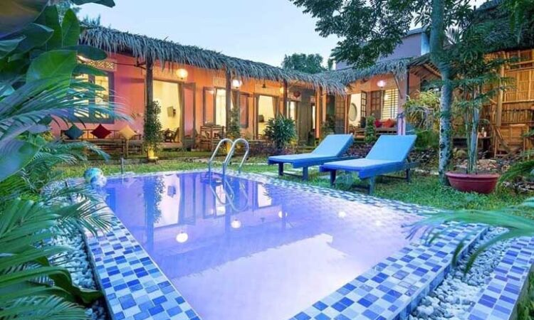 HAVL49 - Villa sân vườn 4 phòng ngủ gần biển An Bàng